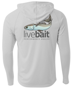 Mullet Youth Long Sleeve Hood - LiveBait.com