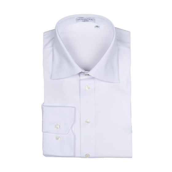 Jeff Performance Stretch Shirt - White