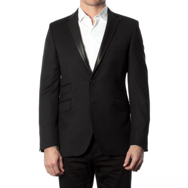 James Night Jacket - Black