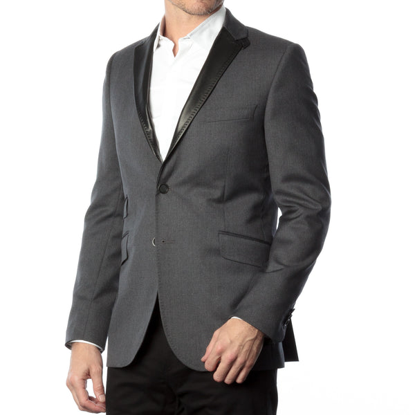 James Night Jacket - Grey
