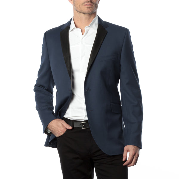 James Night Jacket - Navy Blue