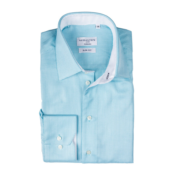 James Cotton Shirt - Turquoise