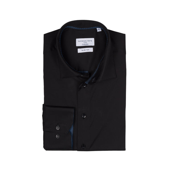 Parker Performance Stretch Shirt - Carbon Black