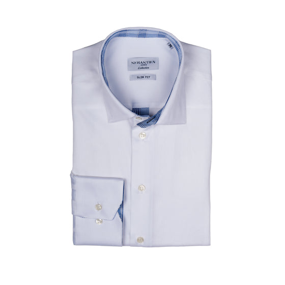 Parker Performance Stretch Shirt - Glacier White
