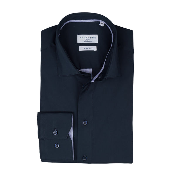 Parker Performance Stretch Shirt - Navy