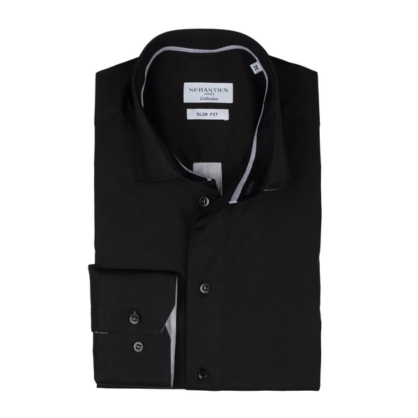 Parker Performance Stretch Shirt - Black