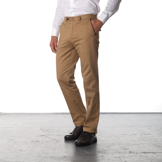James Cotton Pants - Beige
