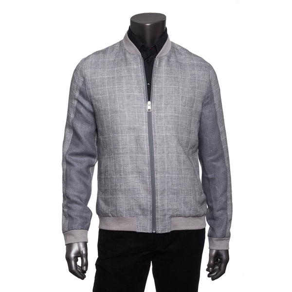Smith Linen Jacket - Grey