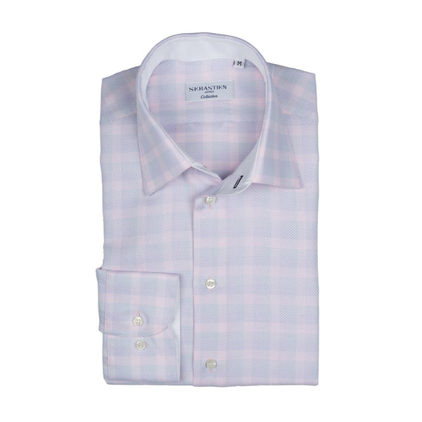 Steve Cotton Shirt - Purple