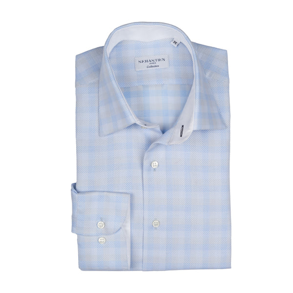 Steve Cotton Shirt - Blue