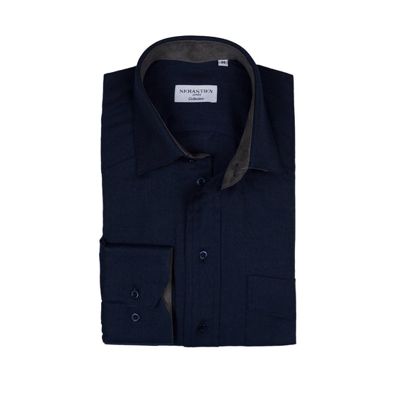 Vaquero cotton tailored fit shirt - blue