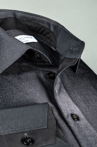 James Cotton Shirt - Grey Fade