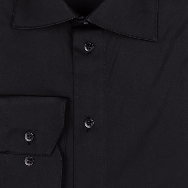 Jeff Performance Stretch Shirt - Black