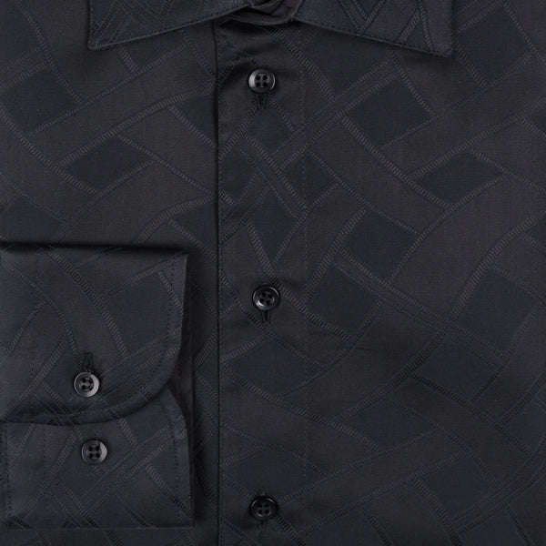 Gary Cotton Shirt - Black