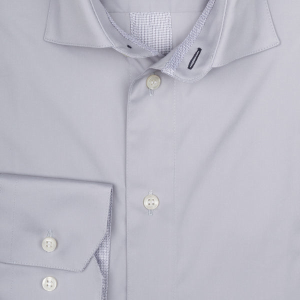 Parker Performance Stretch Shirt - Light Grey