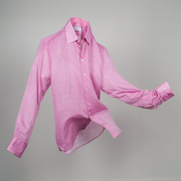 Gary Cotton Voile - Solid Pink