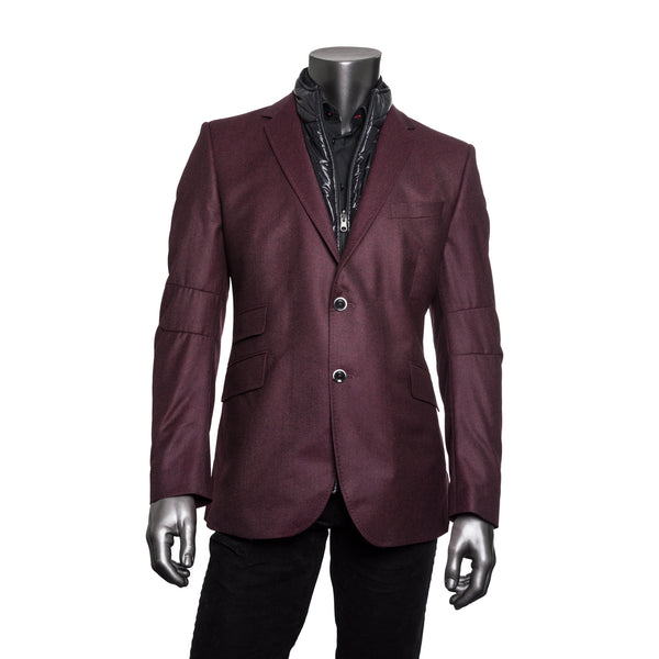 James Vista Jacket - Burgundy