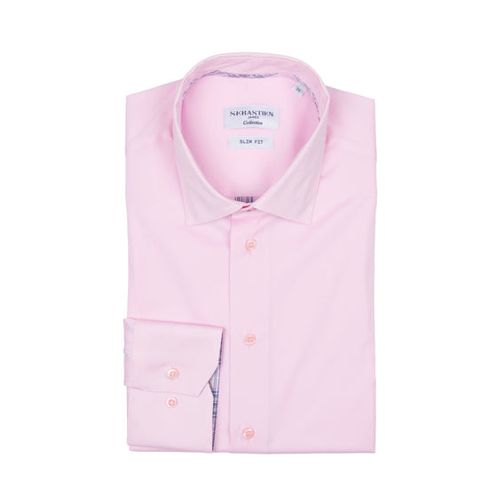 Parker Performance Stretch Shirt - Pink