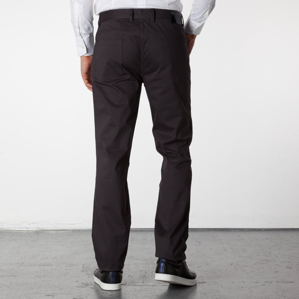 Parker 5 Pocket Pants - Charcoal