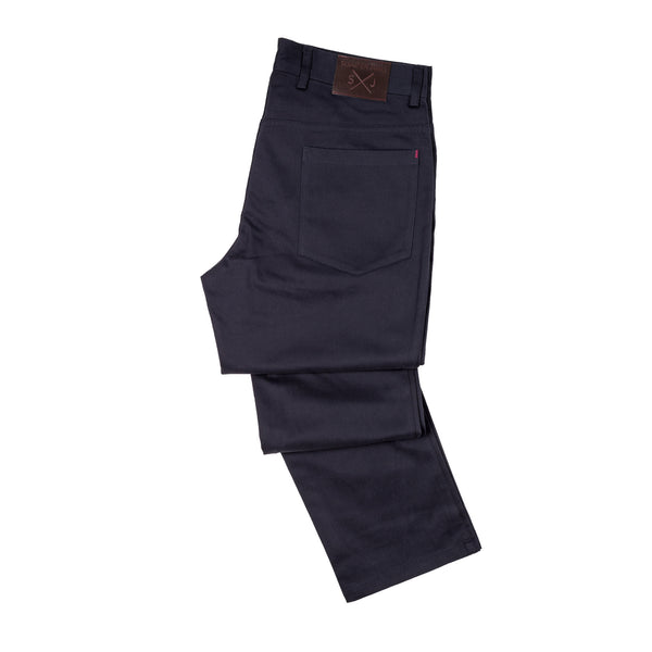 Parker 5 Pocket Pants - Navy Blue
