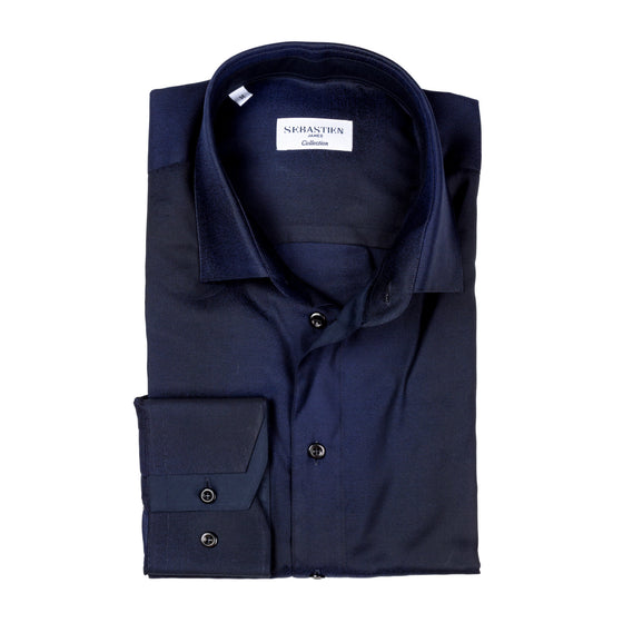 James Cotton Shirt - Navy Fade