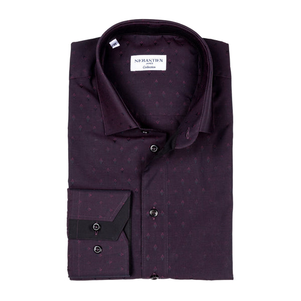 James Cotton Shirt - Exblood Rhombus