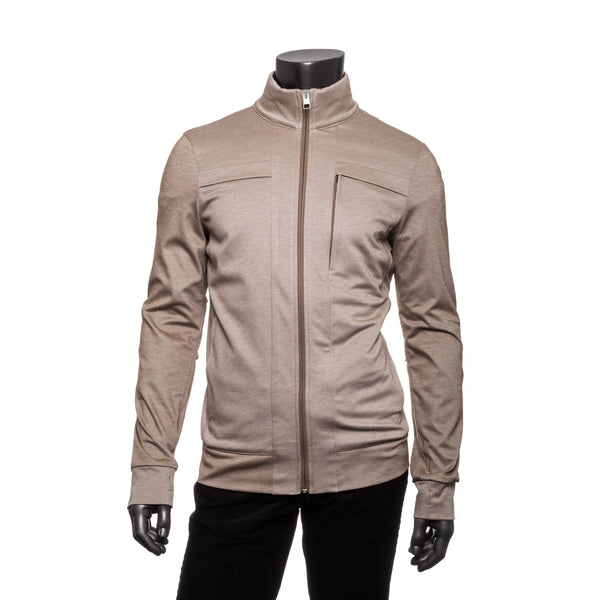 Aaron Cotton Jacket - Beige