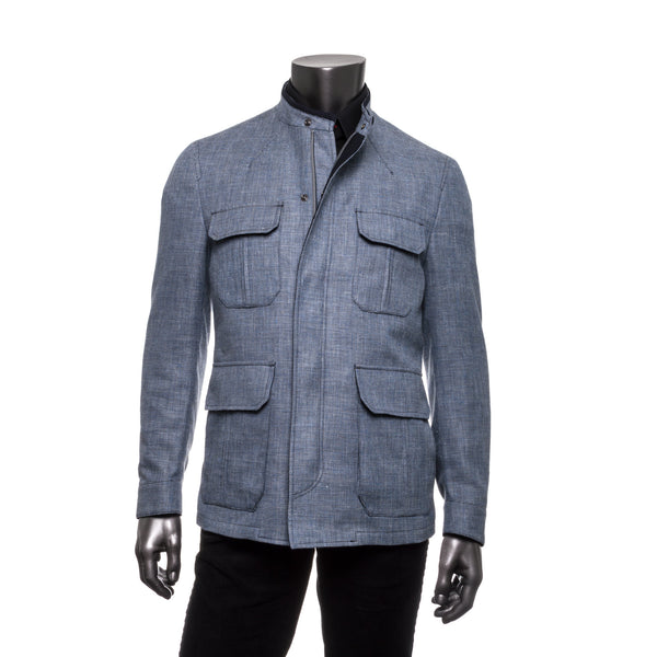 Sandy Jacket Wool Blend - Blue