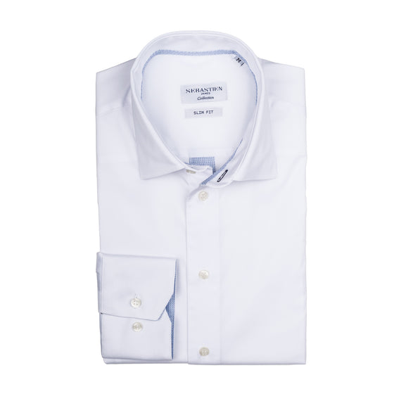 Parker Performance Stretch Shirt - White