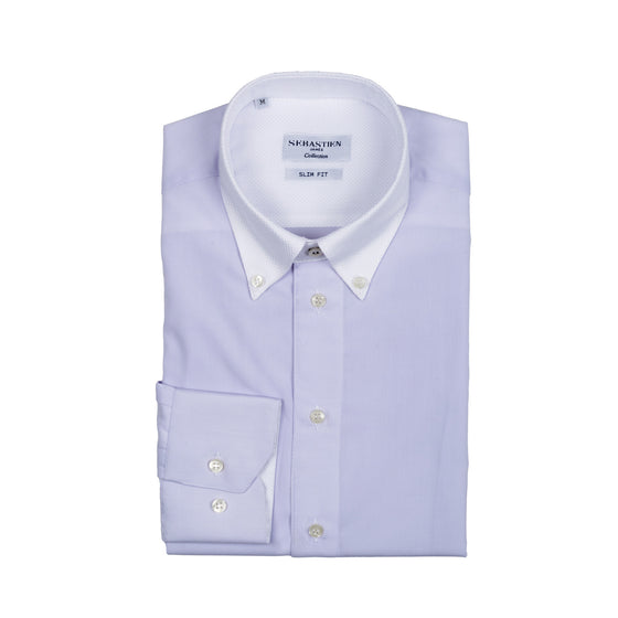 Smith Shirt Cotton - Lavender