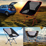 Camping Chair Multifunctional Portable Breathable Ultra Light (UL) Aluminium Alloy 7005 Mesh Oxford for 1 person Fishing Beach Camping Travel Autumn / Fall Spring Dark Blue Navy Blue Fuchsia