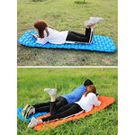 Inflatable Sleeping Pad Camping Pad Air Pad Outdoor Camping Portable Lightweight Moistureproof TPU Nylon 195*58 cm Camping / Hiking / Caving Traveling Outdoor for 1 person Autumn / Fall Spring Summer