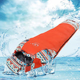 Sheng yuan Sleeping Bag Outdoor Mummy Bag -20℃~-15℃~0℃ Single Duck Down Waterproof Windproof Breathable Warm Moistureproof Dust Proof Wicking Sealed 220*80 cm Winter for Hiking Camping Traveling