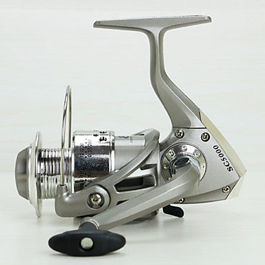 Baitcasting Reel 5.5:1 Gear Ratio+12 Ball Bearings Hand Orientation Exchangable Sea Fishing / Bait Casting / Freshwater Fishing - Baitcast Reels