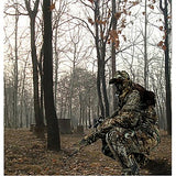 Men's Hunting Jacket with Pants Hunting Suit Camo / Camouflage Winter Outdoor Thermal / Warm Waterproof Windproof Breathable Cotton Fleece Elastane Winter Jacket Hoodie Jacket and Pants Top Camping