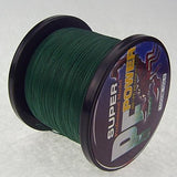 New Fighter Brand Multifilament Pe Braided Fishing Line Carp 1000M Super Strong 4 Strands 60 70 80 100Lb