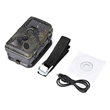 Hunting Trail Camera / Scouting Camera 16 MP 1080p Night Vision 120° Detecting Range 2'' LCD 42pcs IR LEDs Camping / Hiking / Caving Hunting Wildlife 850 nm 3.1 mm 1080p