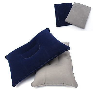 Camping Travel Pillow Camping Pillow Outdoor Camping Portable Warm Inflatable PVC / Vinyl 35*24*10 cm for Fishing Camping / Hiking / Caving Traveling Autumn / Fall Spring Summer Grey Dark Navy
