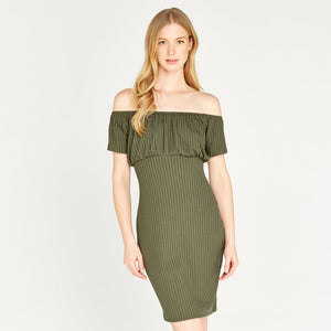 Apricot women dress khaki 453173