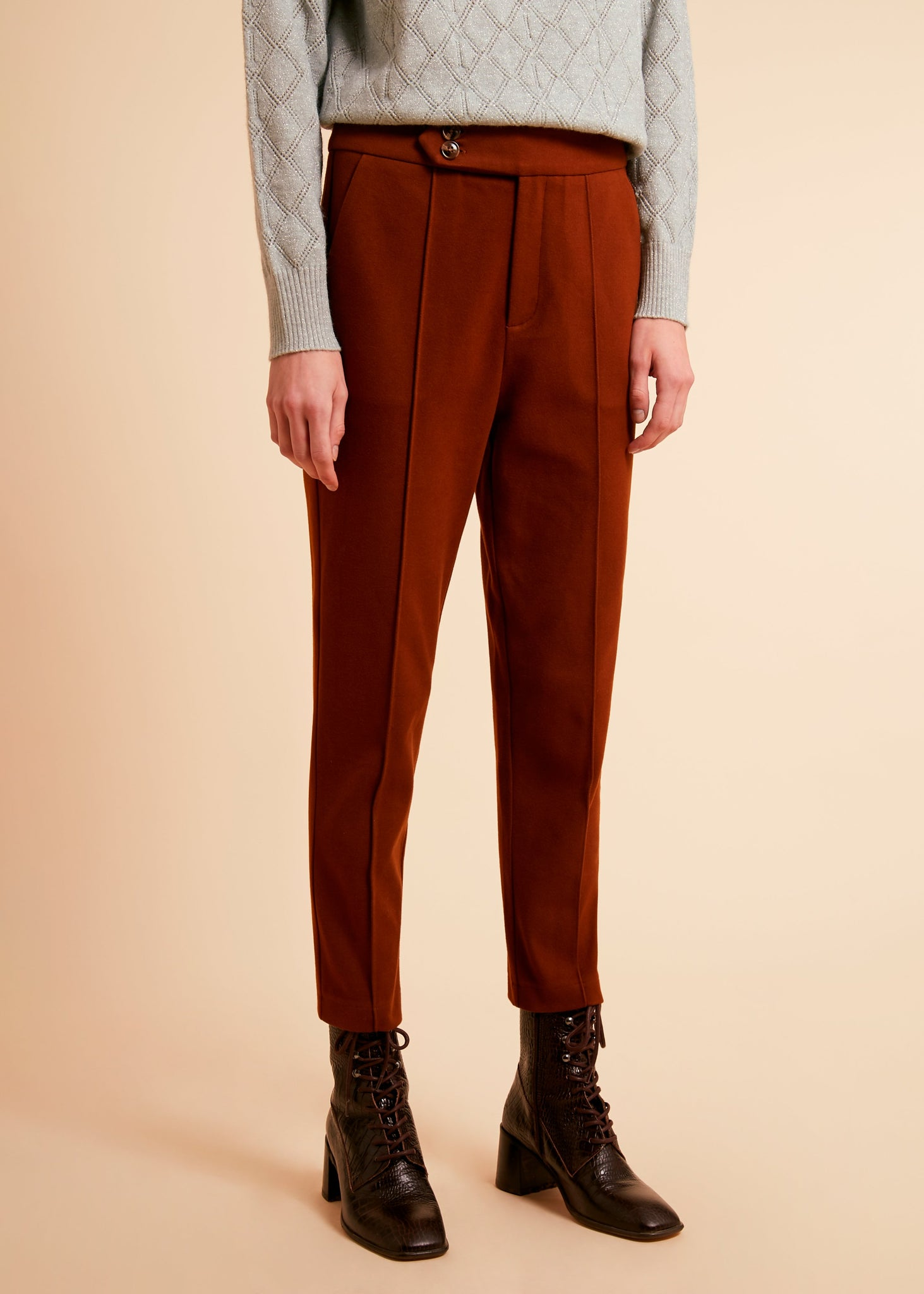 Frnch F11115 Pasquina pants marron