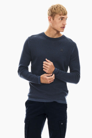 Garcia men's blue sweater T01240