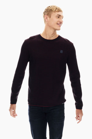 Garcia men's sweater GS010832 merlot