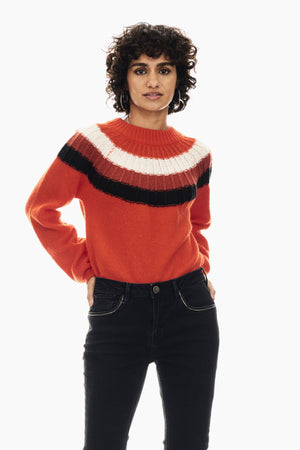 Garcia red sweater U00047