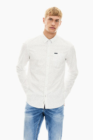 Garcia men's shirt S01026 offwhite