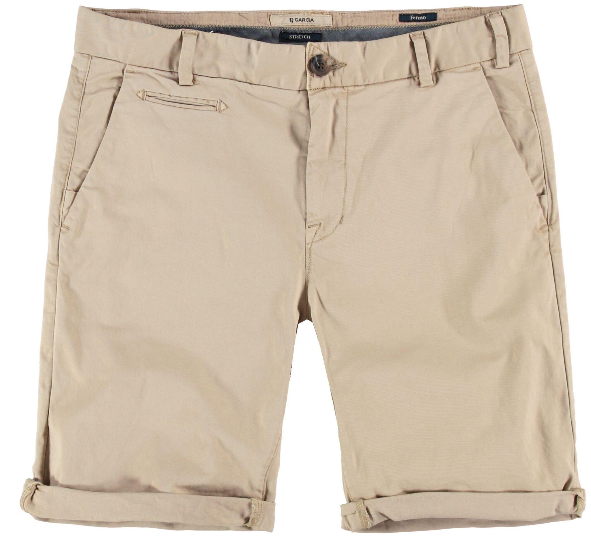 Garcia sand cotton short GS110353