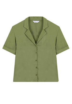 CompaniaFantastica women blouse top green sp20sam37