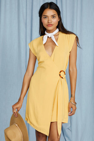 Sunbaked Wrap dress