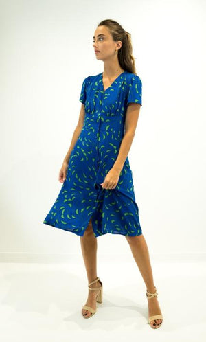 See u soon women dress blue 20121049