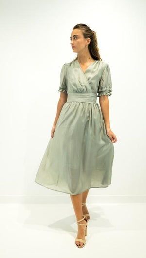 See u soon women dress green 20126117b