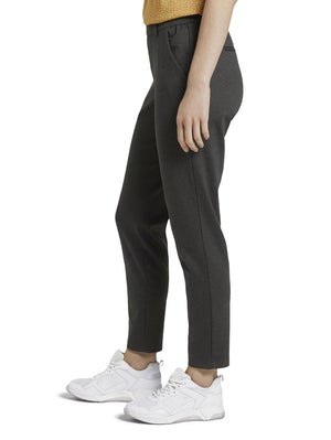 Tom Tailor 1021175 woman's pants charcoal